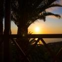 Abendstimmung am Balkon