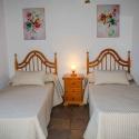 Das Schlafzimmer im Ferienhaus Las Palmeras