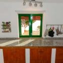 Die Arbeitsfläche in der Küche