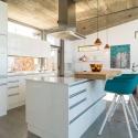 Moderne Küchenzeile der Villa Hahn