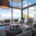 Bequem, modern und der erhabene Blick, die Villa Hahn