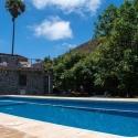 Der Pool am Ferienhaus