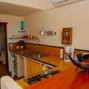 Die Küchenzeile im Apartment A
