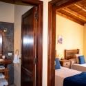 Zugänge zu Bad und Schlafzimmer im Ferienhaus Mora