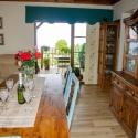 Blick aus der Küche zur Terrasse