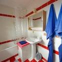 Badezimmer im Ferienhaus auf La Palma