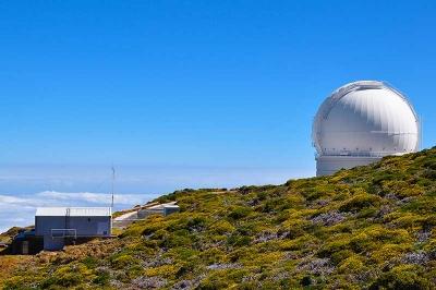Observatorium auf dem Roque de los Muchachos