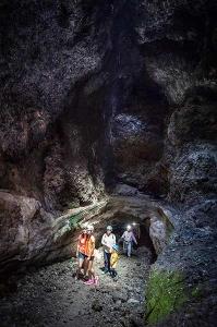Vulkantunnel - Cueva de las Palomas